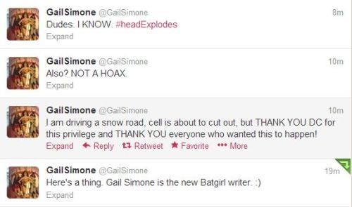 GailSimone (GailSimone) on Twitter