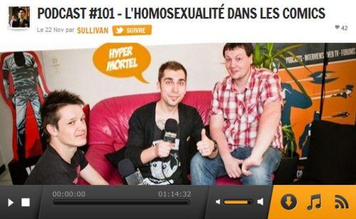 Podcast #101 - L'homosexualité dans les Comics  COMICSBLOG
