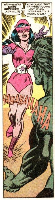 Green Lantern Star Sapphire 1970-1