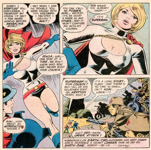 JSA - Power Girl 1976-01