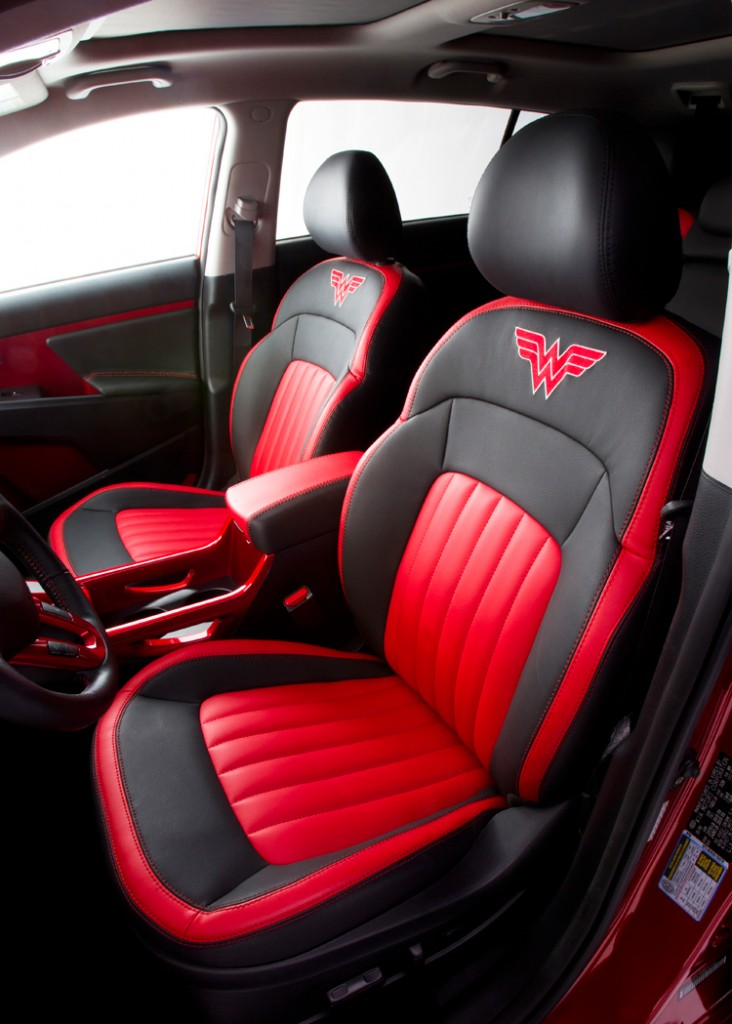wonder-woman-kia-sportage-front-seats-732x1024