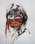 La Cage ou les gens pleurent, mixmedia 11X14, on paper,2013