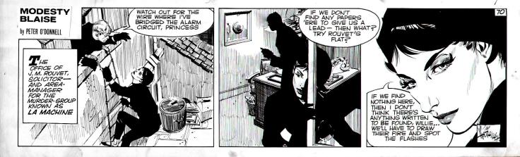 Holdaway - Modesty Blaise strip n.70