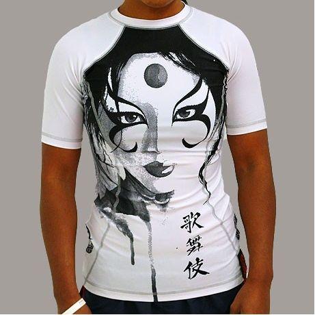 Gawakoto x David Mack Kabuki Ladies Rashguard 1