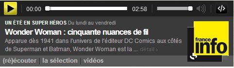 Un été en super héros Wonder Woman
