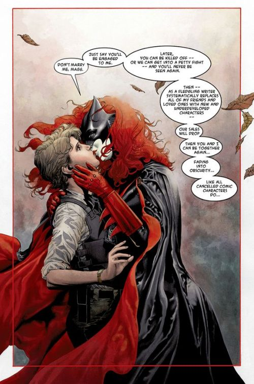 User blogHatebunnySome thoughts on Batwoman and DC's embargo on marriage