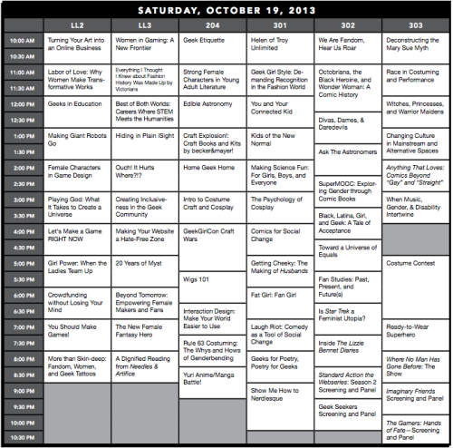 GeekGirlCon13-SaturdayProgrammingGrid-1
