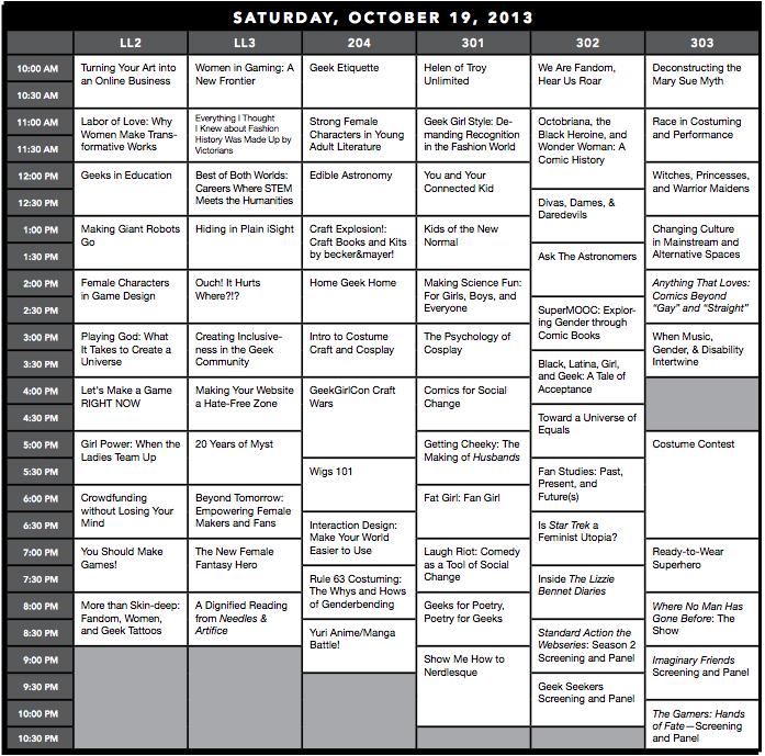 GeekGirlCon13-SaturdayProgrammingGrid-1