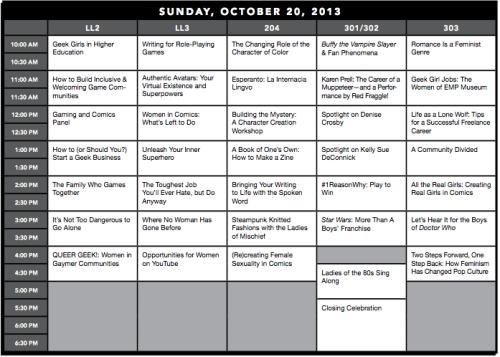 GeekGirlCon13-SundayProgrammingGrid-1