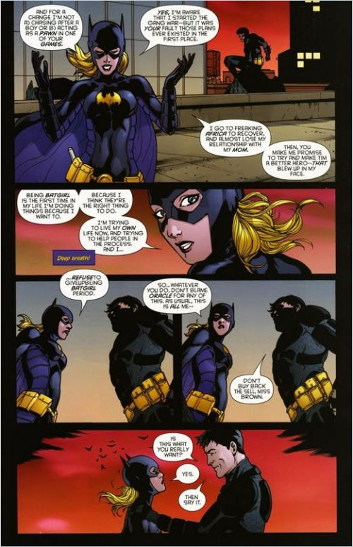 Bruce Wayne- The Road Home Batgirl (1)