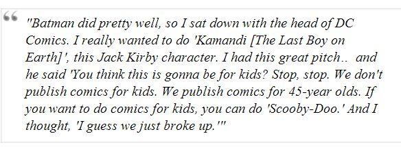 DC Comics Told Paul Pope