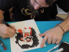 Pepe Larraz sur mon free sketch