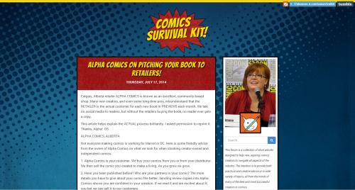 The Comics Survival Kit