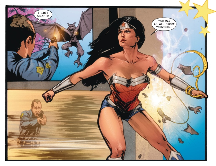 Sensation Comics Featuring Wonder Woman Cat Staggs