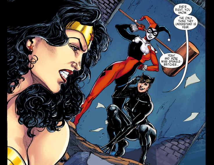 Sensation Comics Featuring Wonder Woman Harley Quinn Catwoman