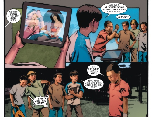 Sensation Comics Featuring Wonder Woman kid 1
