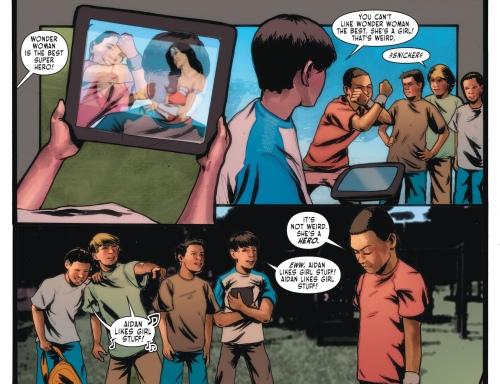 Sensation Comics Featuring Wonder Woman kid 1
