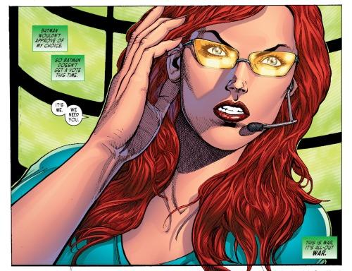 Sensation Comics Oracle
