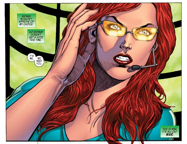 Sensation Comics Oracle