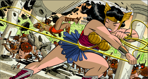 DC Reveals DARWYN COOKE December Variant Cover Theme  Wonder Woman