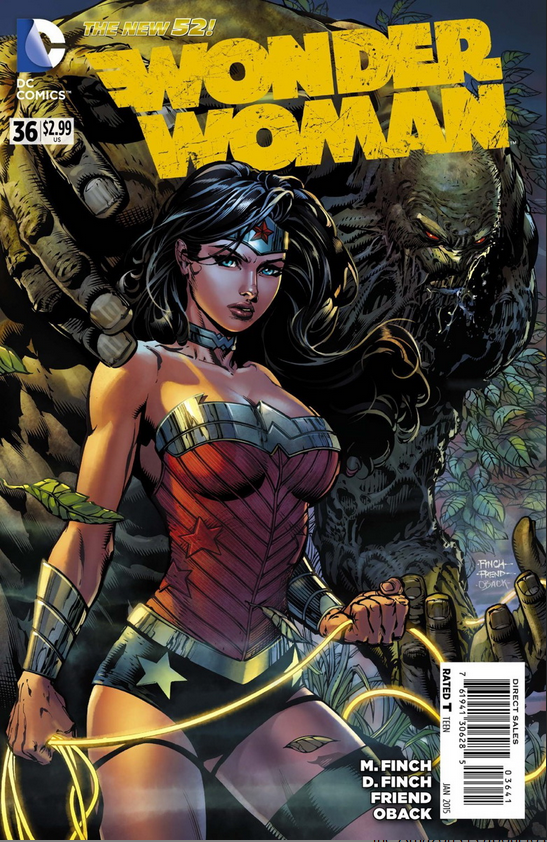 First Full WONDER WOMAN #36 Preview 1