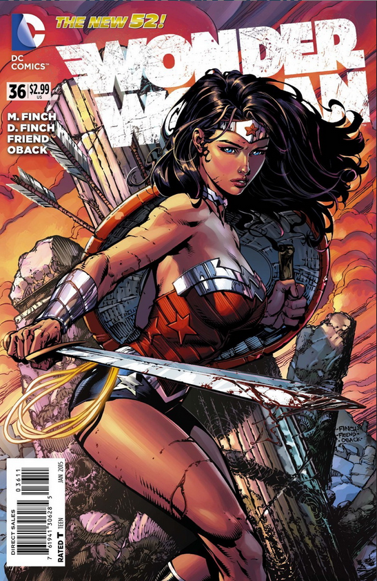First Full WONDER WOMAN #36 Preview 2