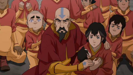 Tenzin_and_his_family_cornered