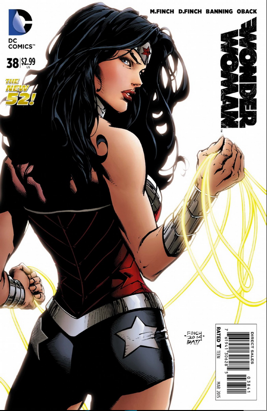 WONDER WOMAN #38 Preview 1