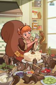 Unbeatable Squirrel Girl #3 par Gurihiru