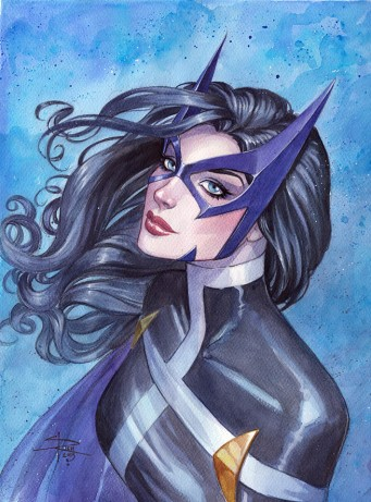 huntress_watercolor_by_sabinerich-d8mo89b