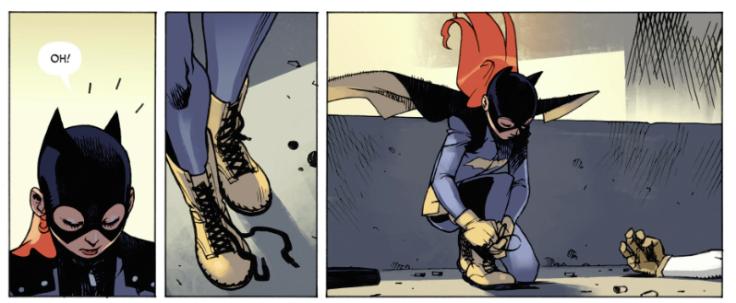 Batgirl head