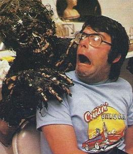 stephen king (tournage creepshow)