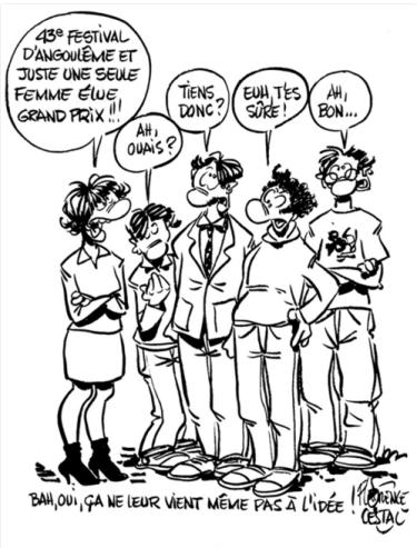 La liste 100% masculine des nommés pour le Grand Prix du Festival d'Angoulême