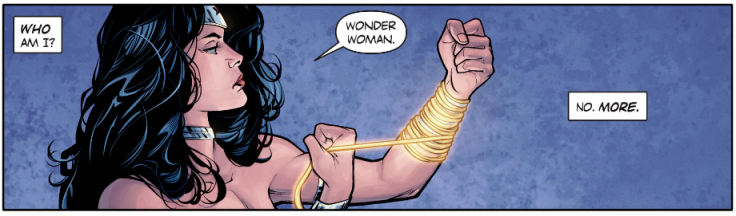 Wonder Woman - Rebirth Head