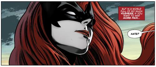 Batwoman Head