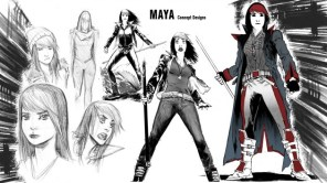 Maya-stages