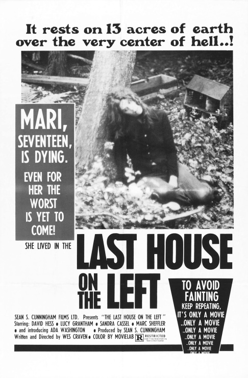 The Last House on the Left 1972 poster